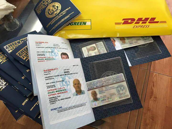 Service of changing driver's license quickly in Vietnam
