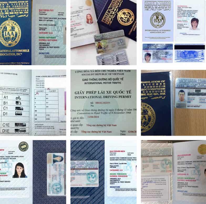 Thủ tục chuyển đổi bằng lái xe quốc tế việt nam sang các nước khác