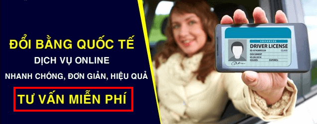 Change iaa idp international driver license for Vietnamese to go abroad