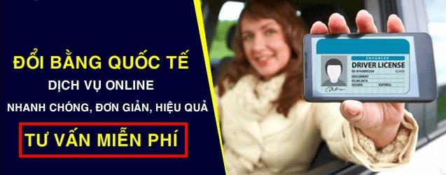Đổi bằng lái xe quốc tế iaa idp cho người việt nam đi nước ngoài