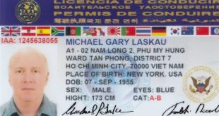 Change Of Driver's License For Foreigners In Vietnam 17