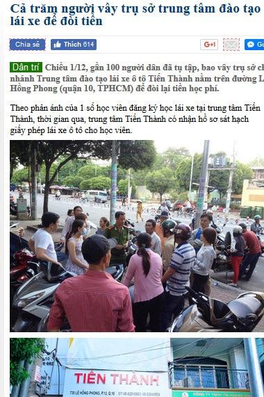 lua dao hoc thi bang lai xe oto - 7 Cách Lừa Đảo Học Viên Đăng Ký Học Thi Lái Xe Ôtô ở HCM