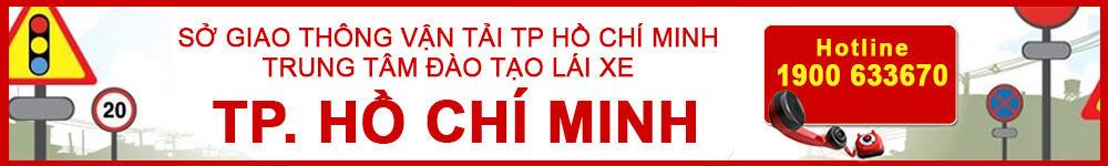 Trường đào tạo & thi sát hạch lái xe tại TP Hồ Chí Minh
