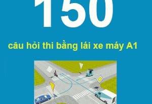 Tài liệu ôn tập 200 câu hỏi, đáp án thi bằng lái xe máy A1 (mẹo học nhớ nhanh) 10
