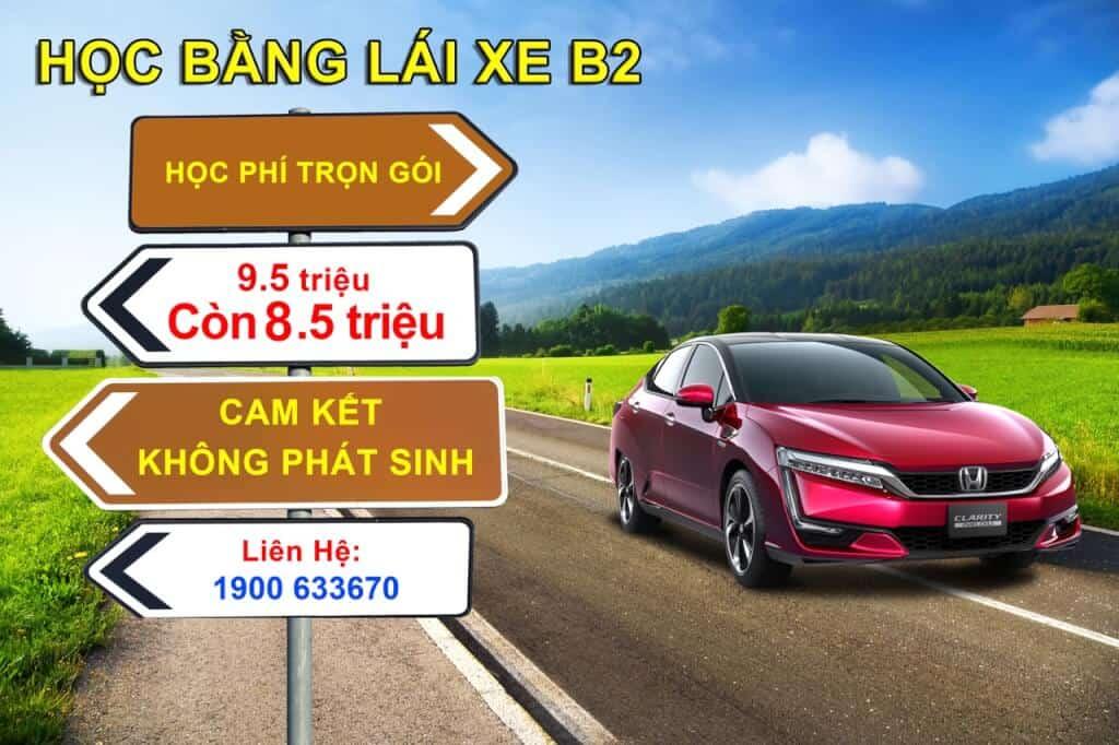 Trường Đào Tạo & Sát Hạch: Học - Thi Bằng Lái Xe Ôtô B1 / B11, B2 Tại TpHCM 1