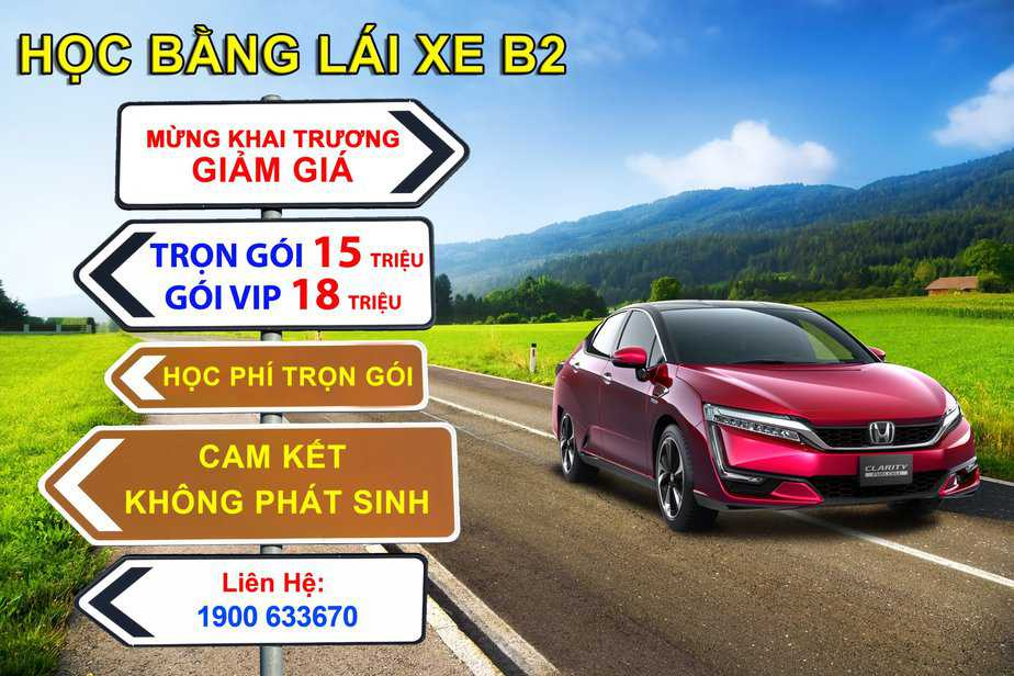 Training & Examination School: Study - Test of Driver's License for B1, B2 in HCMC 1