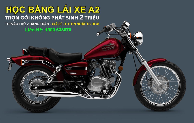 Đào Tạo: Học & Thi Giấy Phép Lái Xe Máy Hạng A2 (xe moto phân khối lớn>175cc) 4