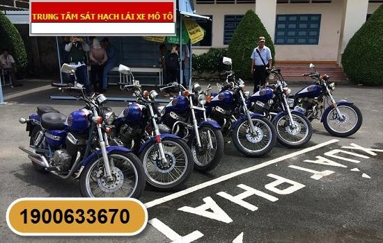 Lệ phí đăng ký Học Thi bằng lái xe máy moto A2 bao đậu TpHCM 2018