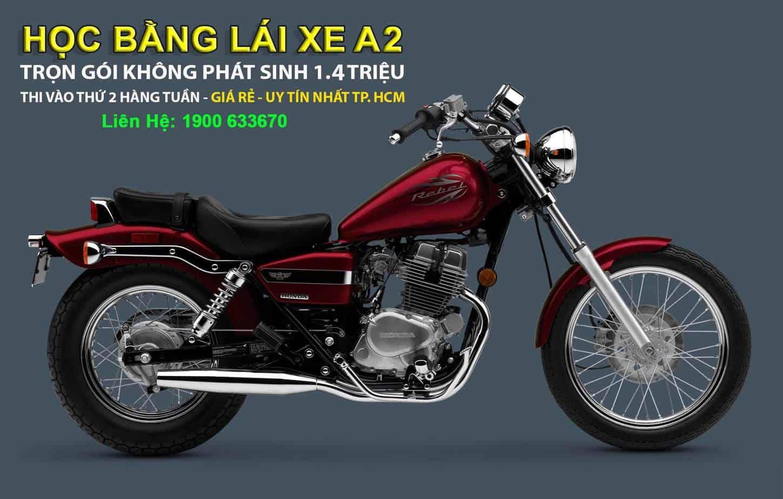Đào Tạo: Học & Thi Giấy Phép Lái Xe Máy Hạng A2 (xe moto phân khối lớn>175cc)