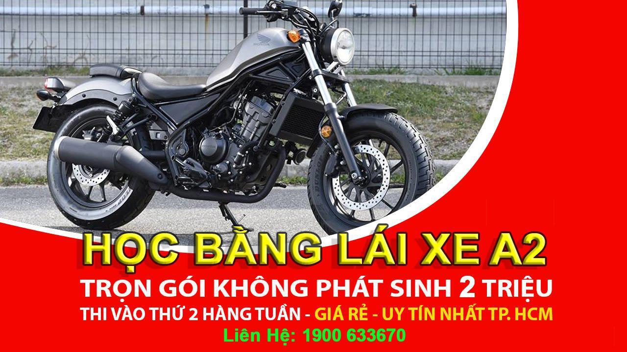 Đào Tạo: Học & Thi Giấy Phép Lái Xe Máy Hạng A2 (xe moto phân khối lớn>175cc) 3