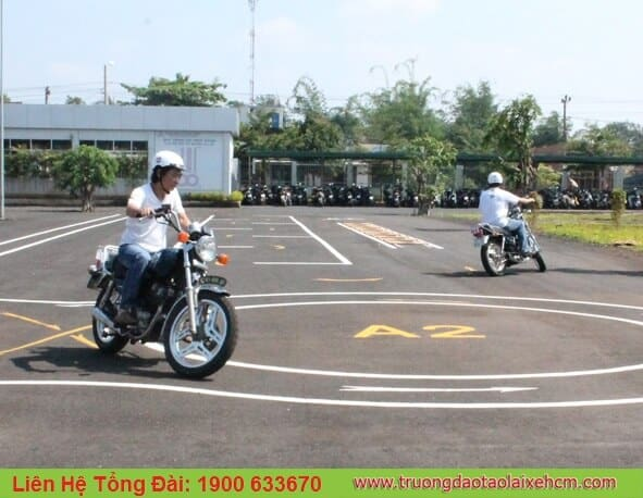 The place to organize a2 driver license exam in tphcm
