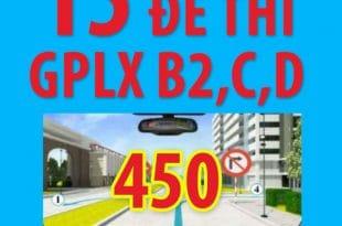 Video giải 15 đề thi lý thuyết giấy phép lái xe oto 2020 (có phần mềm) 5