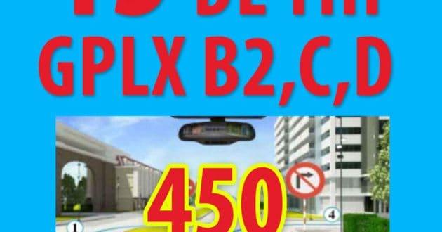Video giải 15 đề thi lý thuyết giấy phép lái xe oto 2018 (có phần mềm) - tai-lieu-huong-dan-meo-di-thi-bang-lai-xe