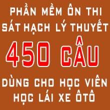 Tải phần mềm học & thi thử 450 câu hỏi lý thuyết B1, B2, C - Trường đào tạo & thi sát hạch lái xe tại TP Hồ Chí Minh