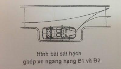 Kinh nghiệm & hướng dẫn mẹo ghép xe ngang oto vào nơi đỗ (hạng b1, b2)