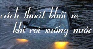 Cách thoát ra khỏi xe khi ôtô lao xuống sông - blog-giao-thong