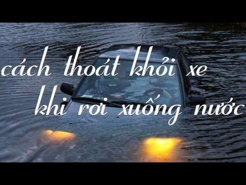 thoat hiem xe roi xuong nuoc - Cách thoát ra khỏi xe khi ôtô lao xuống sông