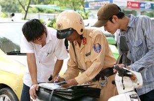 25 lỗi bị cảnh sát giao thông xử phạt thường gặp đối với xe máy 24