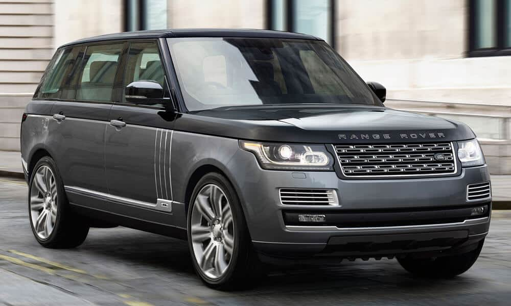 Car RANGE ROVER SV AUTOBIOGRAPHY PRICE TABLE The World's Most Expensive 2