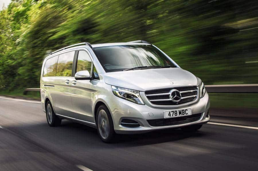 V-Class, Mercedes V220D, Động Cơ Diesel - review-xe - Review Mercedes-Benz V-Class Trên Đường Biển Full