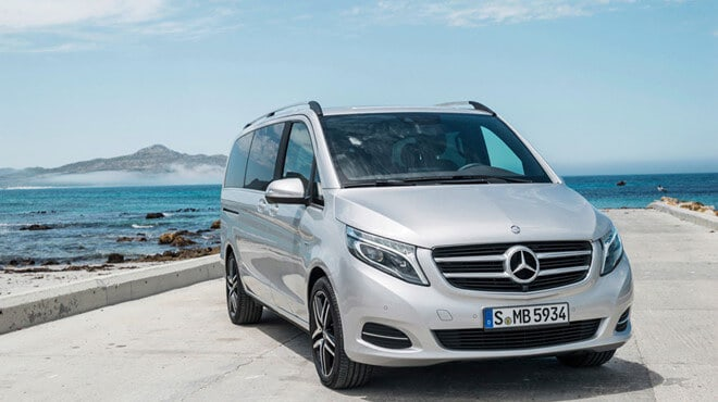 Mercedes Benz V Class hang chat luong cao - Review Mercedes-Benz V-Class Trên Đường Biển Full