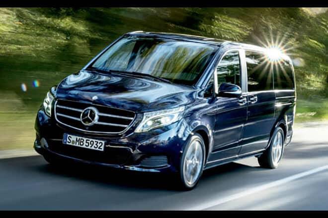 Mercedes-Benz V 220d, Mecerdes Ben V-Class, Avanga D - review-xe - Khám Phá Mercedes-Benz V 220d, MPV Hạng Sang