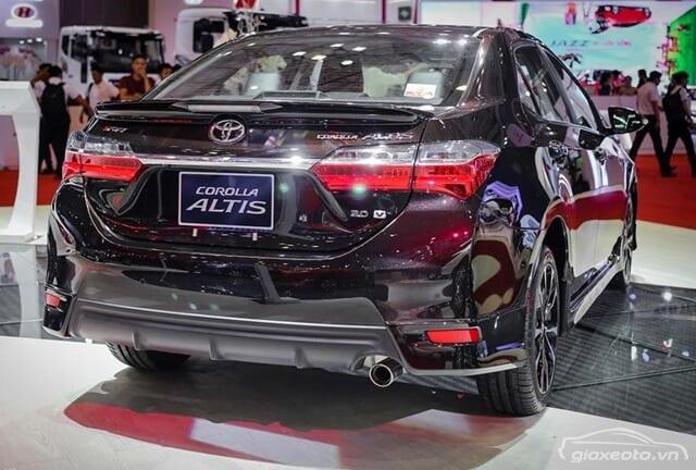 Toyota Altis phiên bản 1.8E và 1.8G 2018 có gì khác nhau? 6