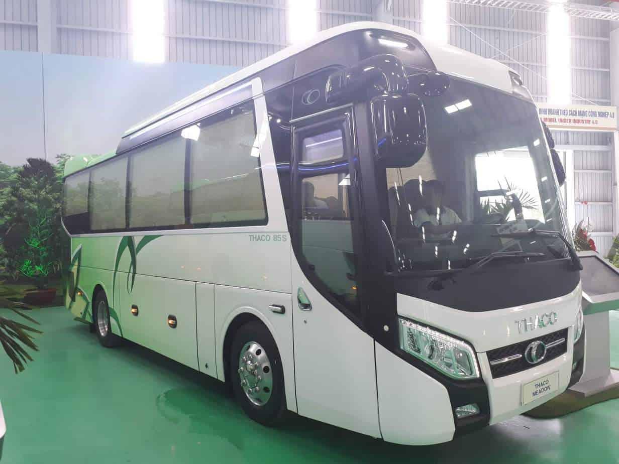 xe khach hien dai thaco - Xe Khách 47 Chỗ Thaco Bluesky 2018 Đỉnh Cao Máy 336