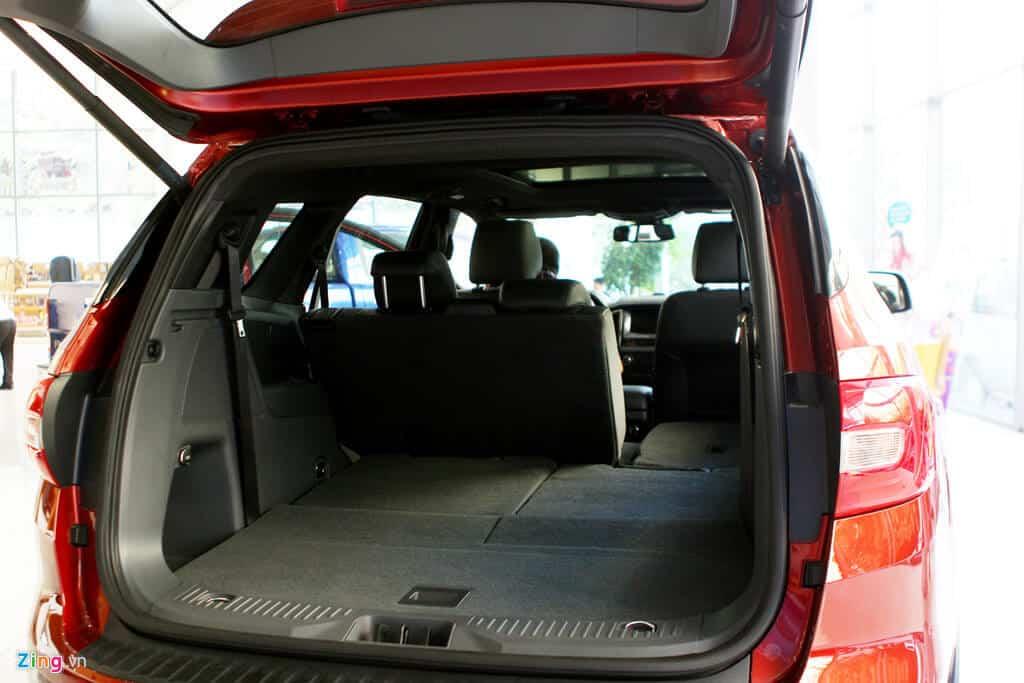 - review-xe - Ford Everest Trend 2.2 có đủ hay để cạnh tranh Toyota Fortuner 2.4G