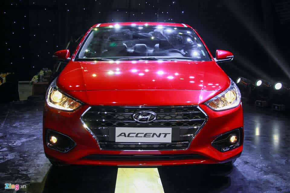 Hyundai Accent 2018 vs Honda City và Toyota Vios 1