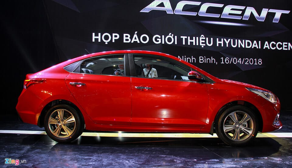 Hyundai Accent 2018 vs Honda City và Toyota Vios 3