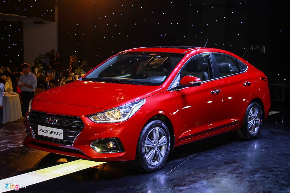 Hyundai Accent 2018 vs Honda City và Toyota Vios 6