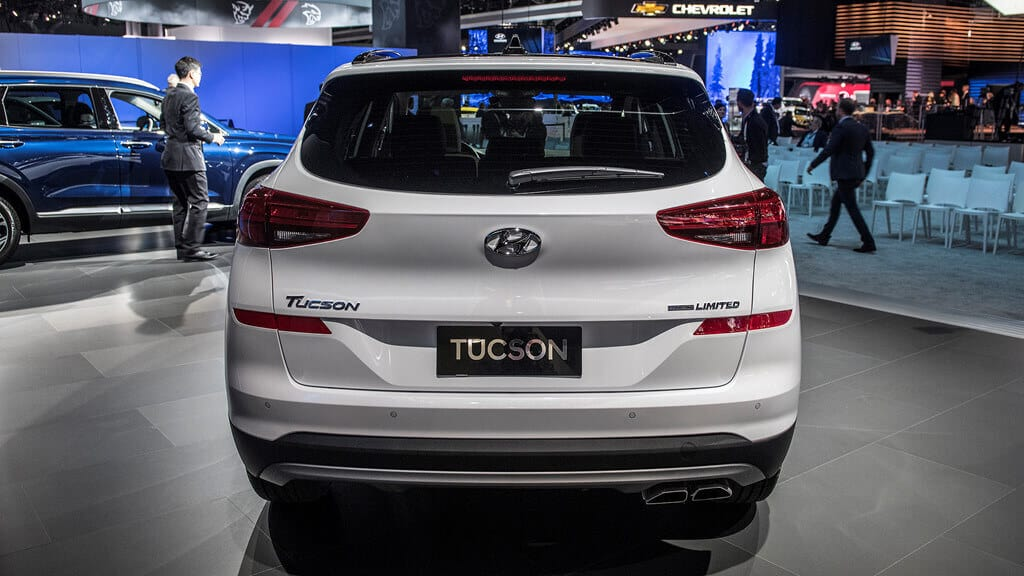 Đánh giá Hyundai Tucson 2018 bản 2.0 10
