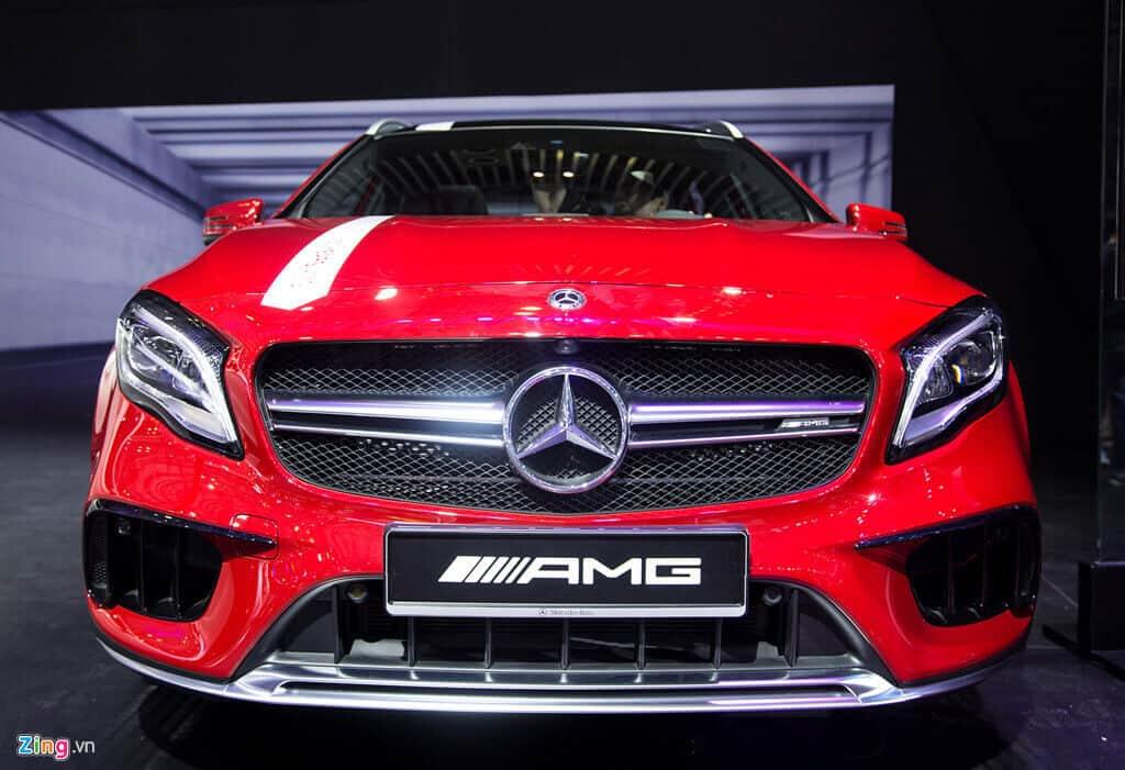 Đánh giá xe Mercedes CLA 250 AMG 3