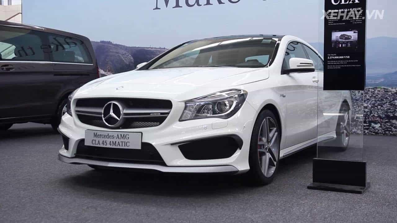 Đánh giá xe Mercedes CLA 250 AMG 4