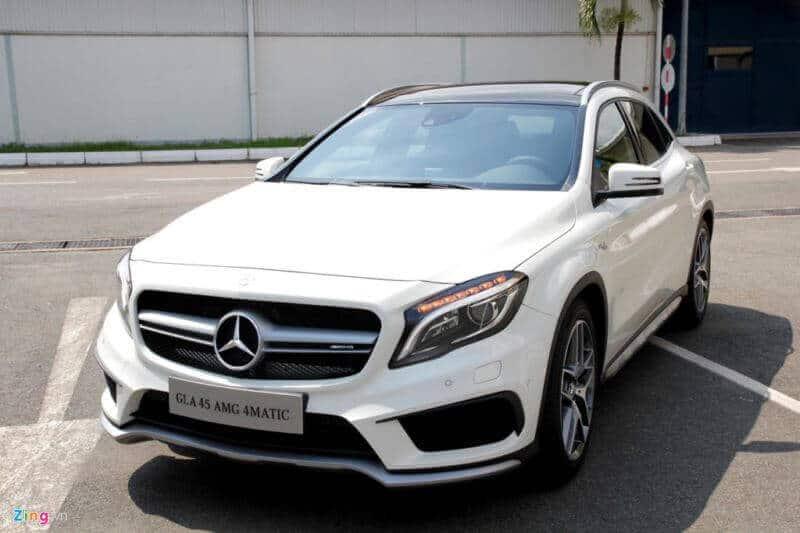Đánh giá xe Mercedes CLA 250 AMG 8