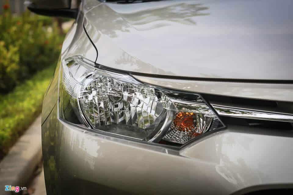 Đánh giá xe Toyota Vios cũ bản E đời 2008 4