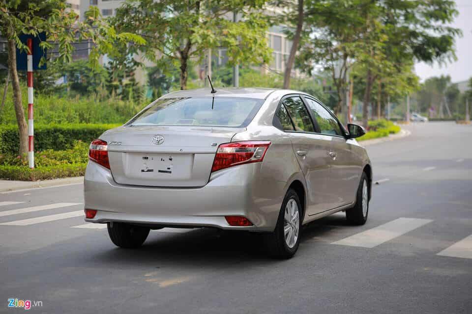 Đánh giá xe Toyota Vios cũ bản E đời 2008 2