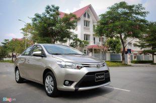 Đánh giá xe Toyota Vios cũ bản E đời 2008 217