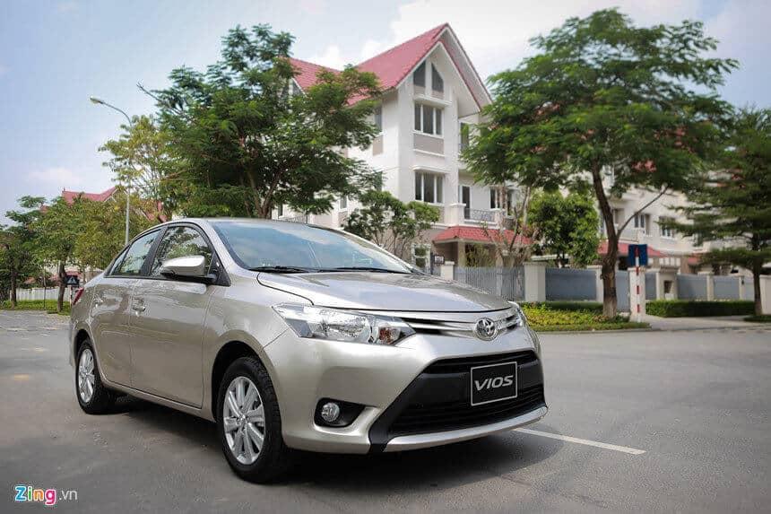 Đánh giá xe Toyota Vios cũ bản E đời 2008 3