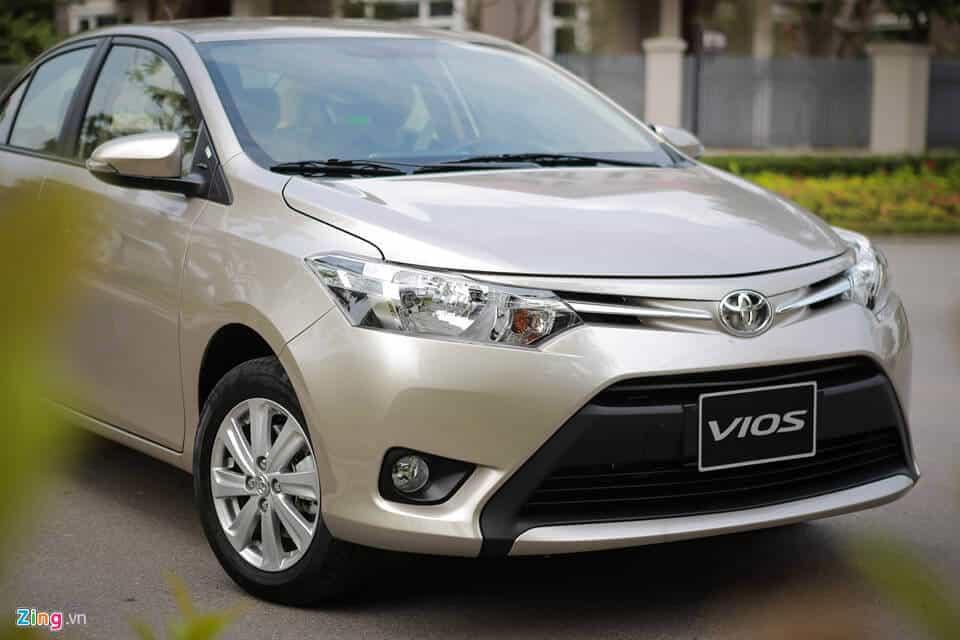 Đánh giá xe Toyota Vios cũ bản E đời 2008 1