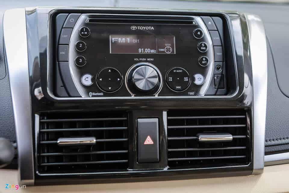 Đánh giá xe Toyota Vios cũ bản E đời 2008 7