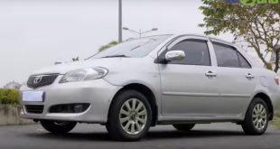 Mua ô tô cũ giá dưới 200 triệu - Toyota Vios cũ 2005 - review-xe