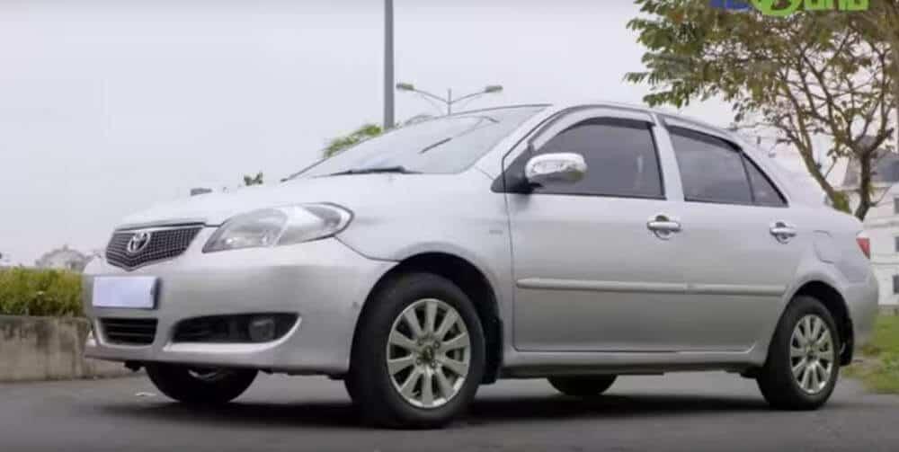 - review-xe - Mua ô tô cũ giá dưới 200 triệu - Toyota Vios cũ 2005