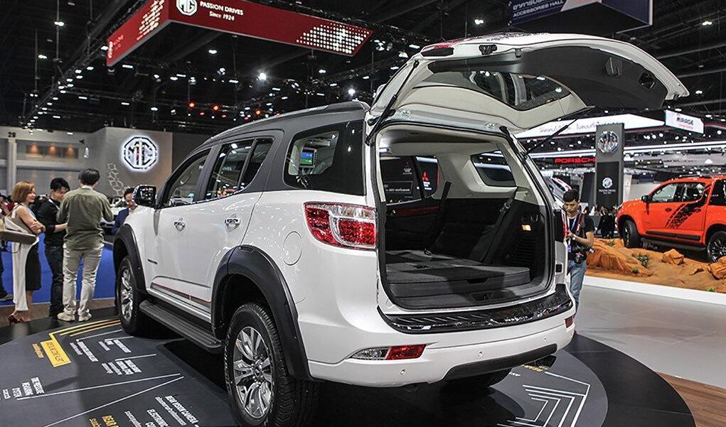 Chevrolet Trailblazer 2 ok - Đánh giá xe Chevrolet Trailblazer – đối thủ Ford Everest (Phần 2)
