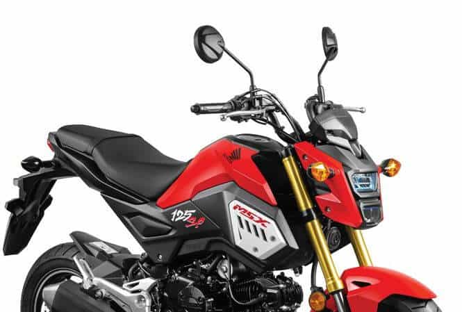 Honda MSX 125 car review - bold personality price of 50 million 3