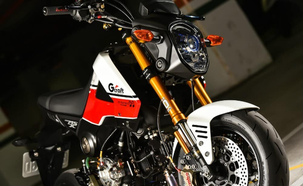 Honda MSX 125 car review - bold personality price of 50 million 2