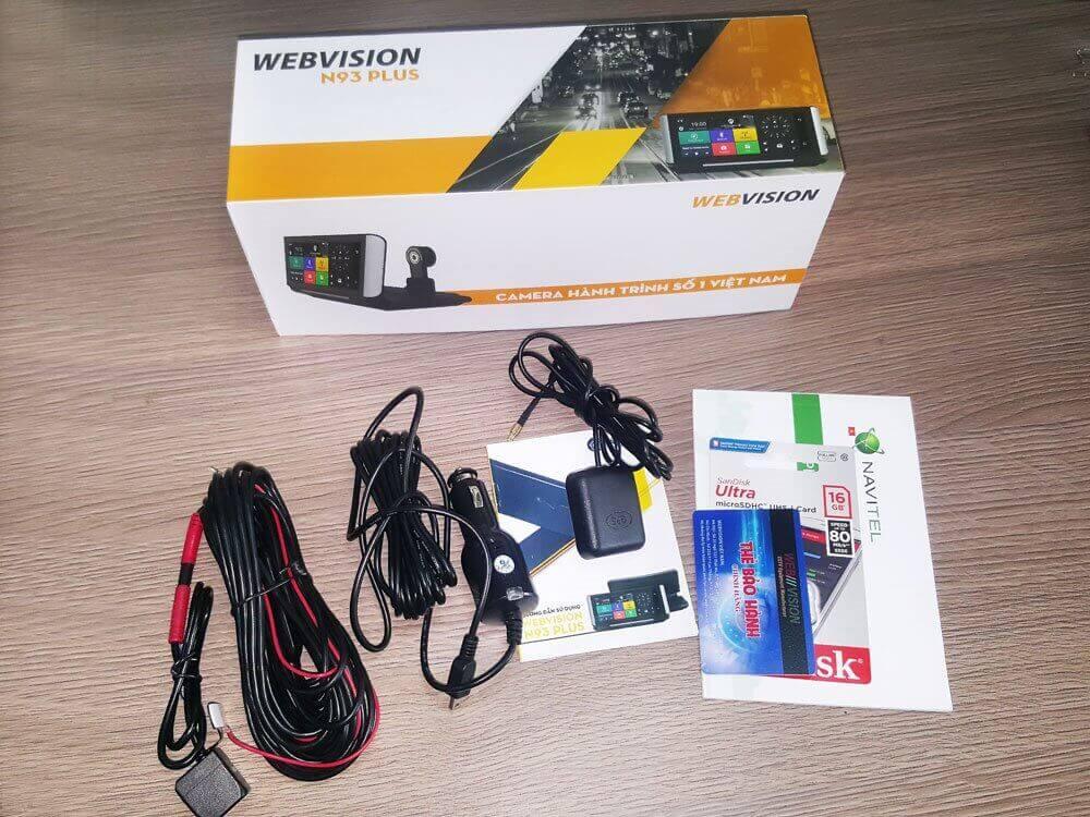 Review Camera Hành Trình Đa Năng Webvision N93 Plus 7