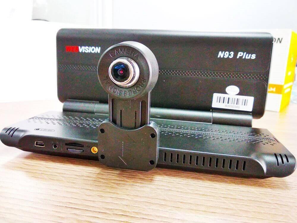 Review Camera Hành Trình Đa Năng Webvision N93 Plus 2