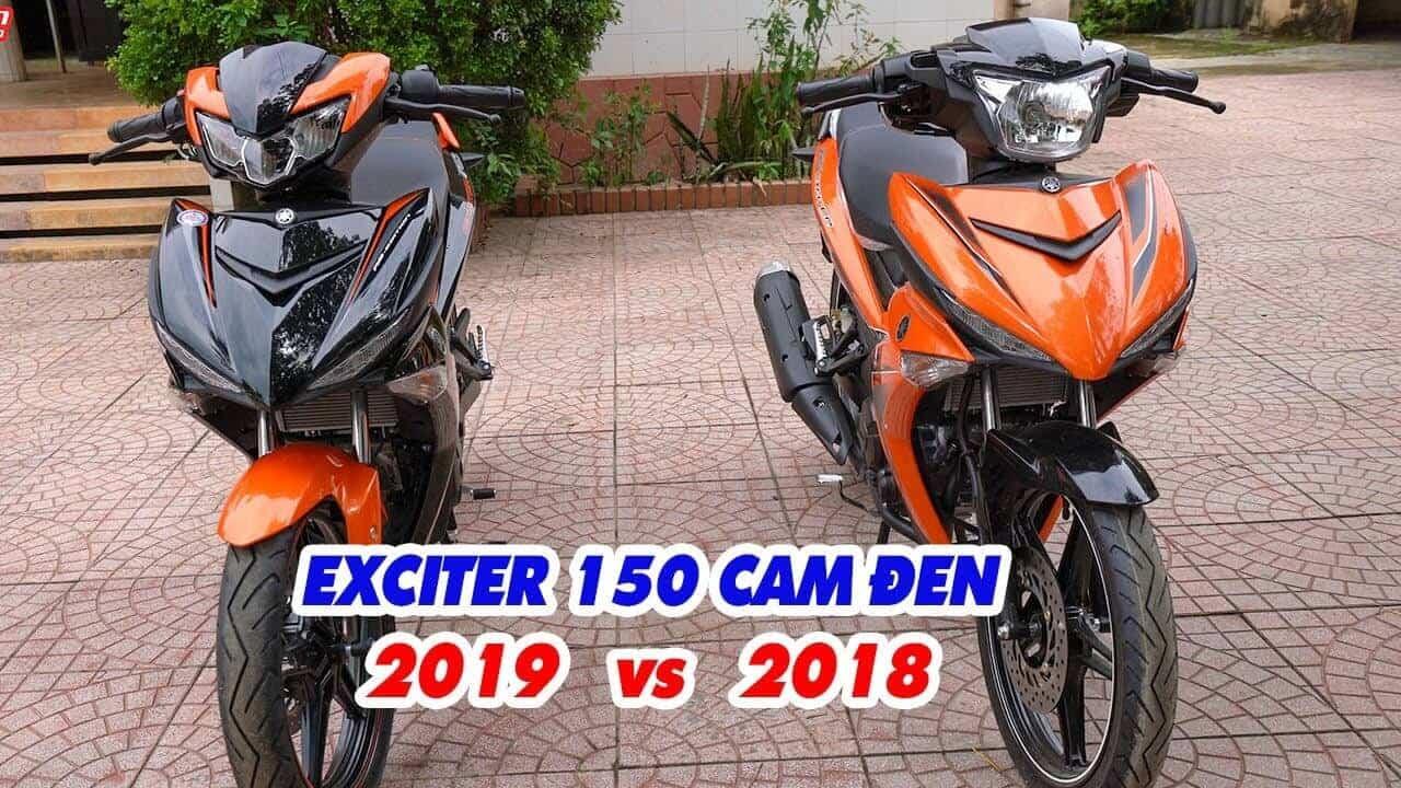 so sánh Exciter 150 2019 GP - Sự Khác Biệt Giữa Exciter 150 2019 GP Với Exciter 150 2018 GP